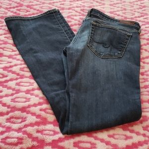 Ag Adriano Goldschmidt The Olivia Skinny Boot Cut